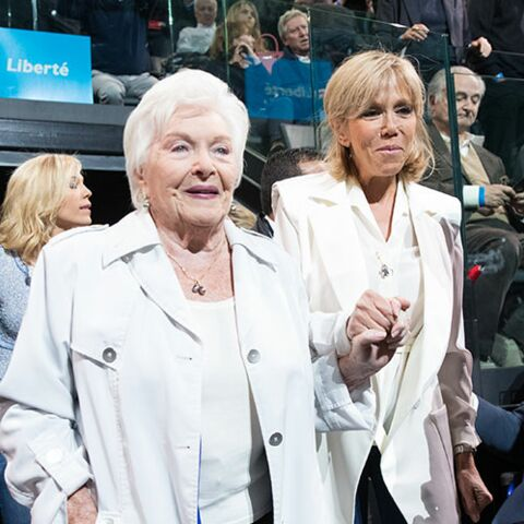 PHOTOS –Quand Brigitte Macron reçoit ses amis «people» au meeting d'Emmanuel Macron