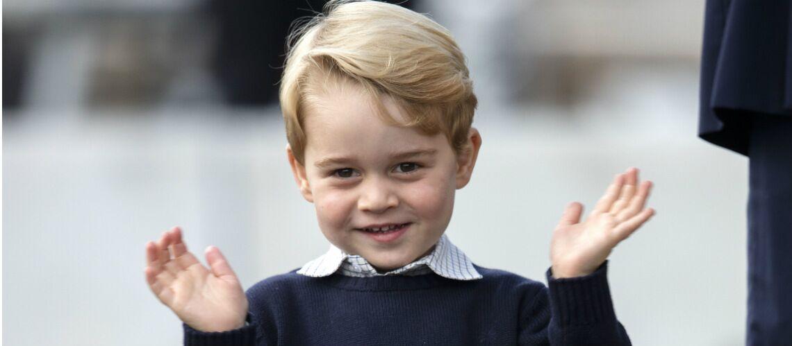Le prince George est un privilégié, il aura droit à un menu spécial à la cantine