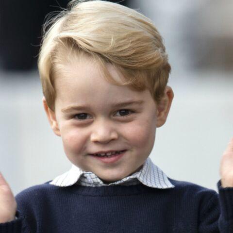PHOTOS – Le prince George en larmes après s'être fait gronder par Kate Middleton