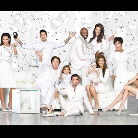 Les Kardashian vous souhaitent de bonnes fêtes