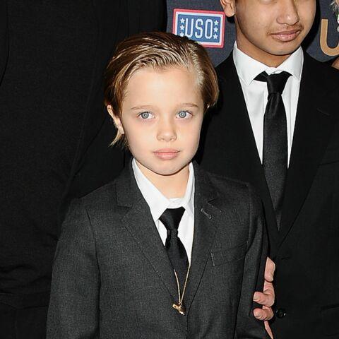 Costume et cravate pour Shiloh Nouvel Jolie-Pitt