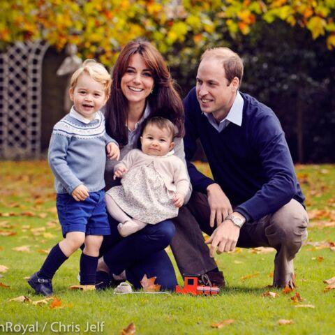 Kate, William et les enfants vous souhaitent de bonnes fêtes