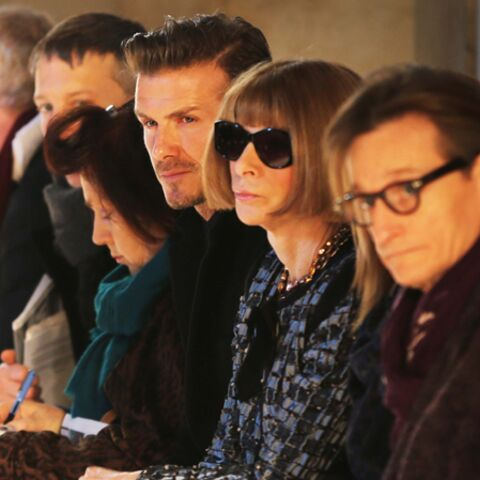 David Beckham, Uma Thurman, fashion week de stars