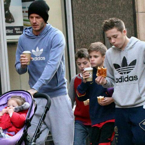 David Beckham: papa comme les autres