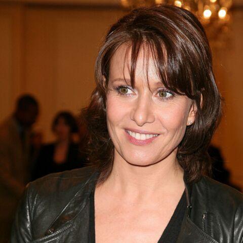 Carole Rousseau enceinte à 45 ans