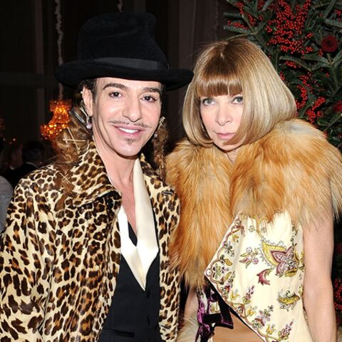 Anna Wintour pistonne John Galliano