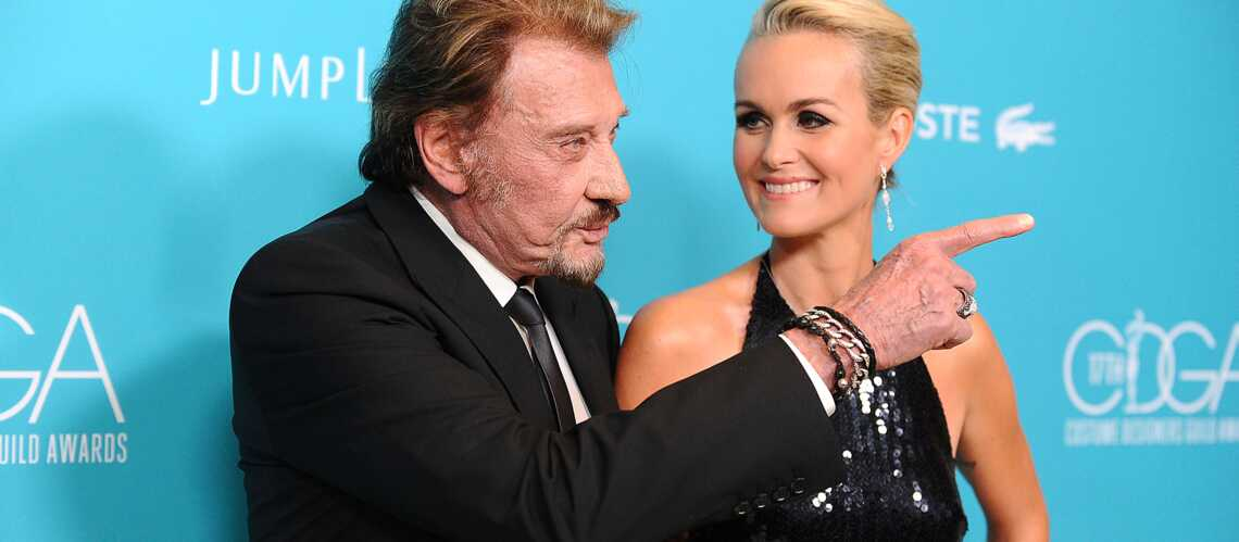 Photos- Johnny et Laeticia Hallyday, pour l'amour du costume