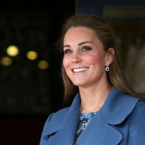 Coiffure de star – La demi pony-tail de princesse Kate