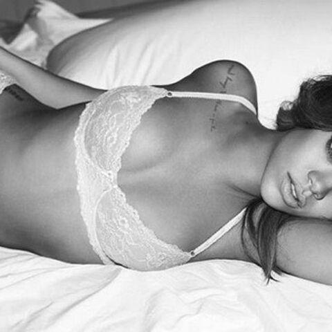 Rihanna à fleur peau