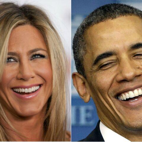 Barack Obama-Jennifer Aniston: vaudeville imaginaire à la Maison Blanche