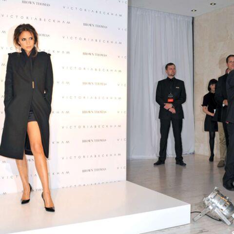 Victoria Beckham reine de la chaussure