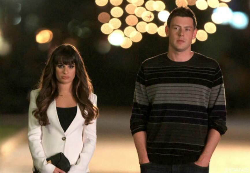 Cory et Lea se sont rencontrés sur la tournage de la série il y a un peu plus d'un an