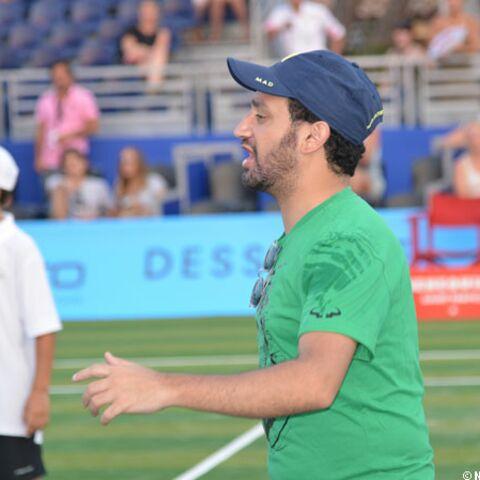 Cyril Hanouna tennisman de choc à Saint-Tropez