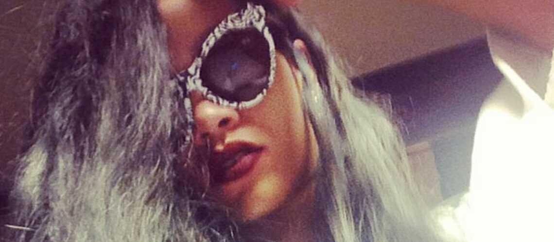 Rihanna, le gris est le nouveau noir