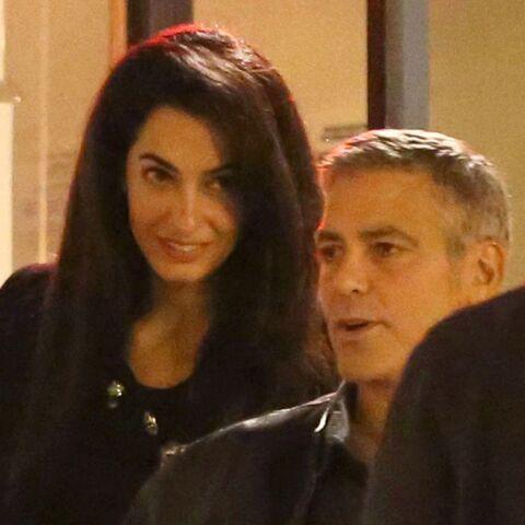 George Clooney et Amal Alamuddin en plein mariage