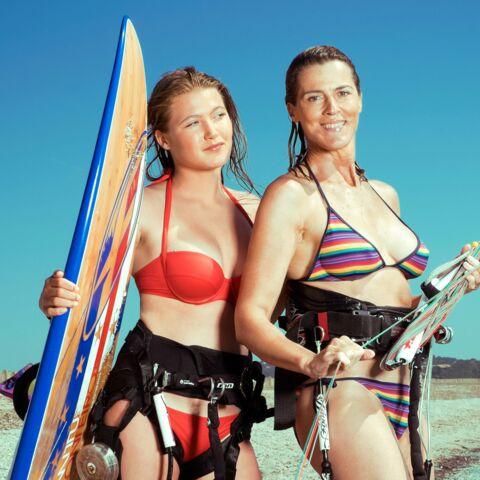 Nathalie Simon: avec sa fille Nina, c'est du sport