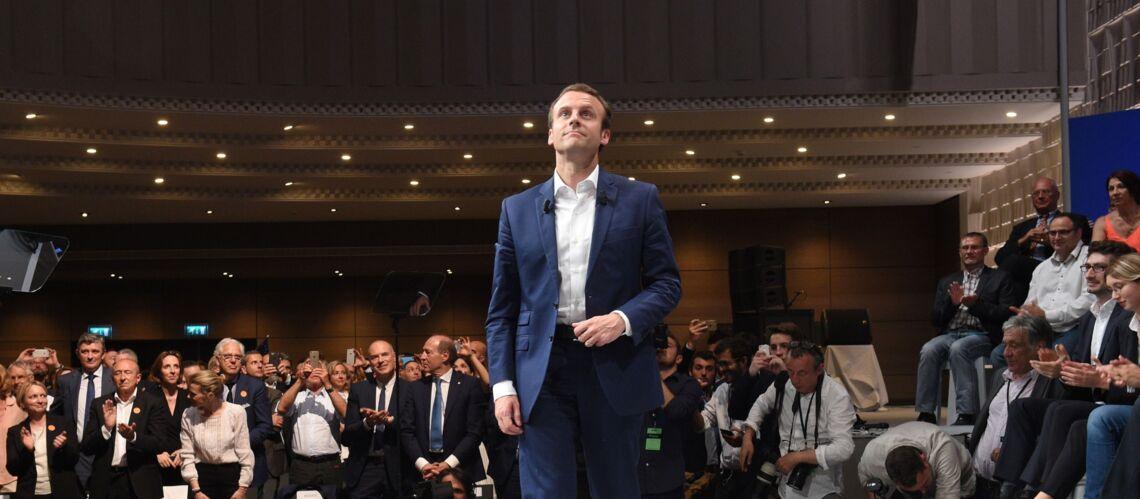 PHOTOS – Emmanuel Macron président: qui est l'homme à la casquette pendant son discours au Louvre?