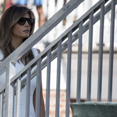 PHOTOS – Melania Trump : elle s'inspire de l'ancienne First Lady Michelle Obama pour son look