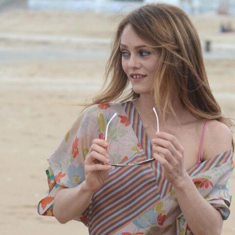 Vanessa Paradis: son retour par la plage