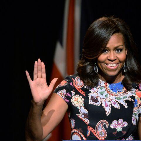 Michelle Obama gâte George et Charlotte d'Angleterre