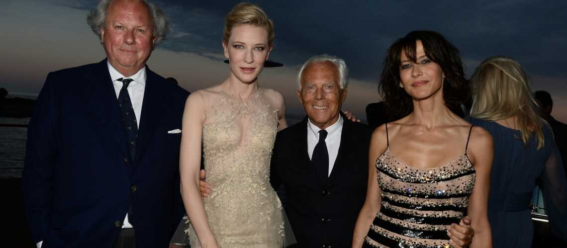 Cannes By Night : Cate Blanchett et Sophie Marceau rayonnantes à la Vanity Fair and Armani Party