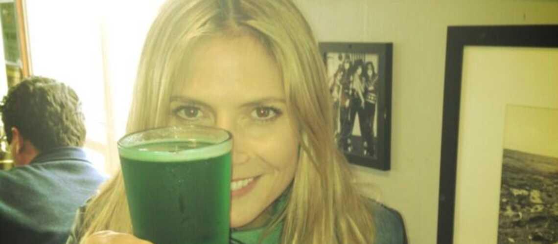 Photos – Heidi Klum, Mariah Carey fêtent la Saint-Patrick