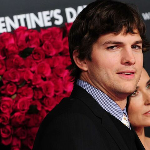 Ashton Kutcher divorce de Demi Moore