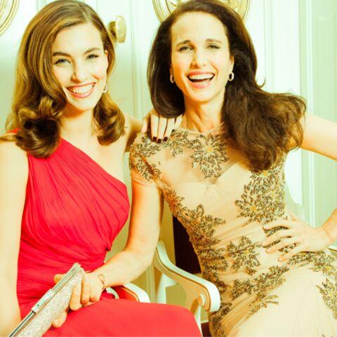 Andie Macdowell et Rainey: la beauté en héritage