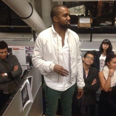 Photos- Kanye West donne un cours à Harvard