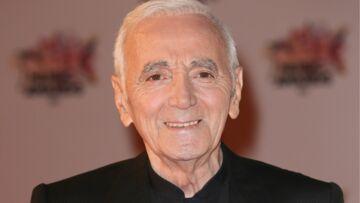 Charles Aznavour commandeur
