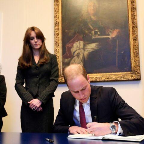 Kate et William, leurs condoléances au peuple français