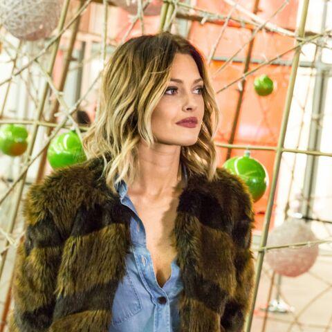 Caroline Receveur lance en beauté les illuminations de Noël du Forum des Halles