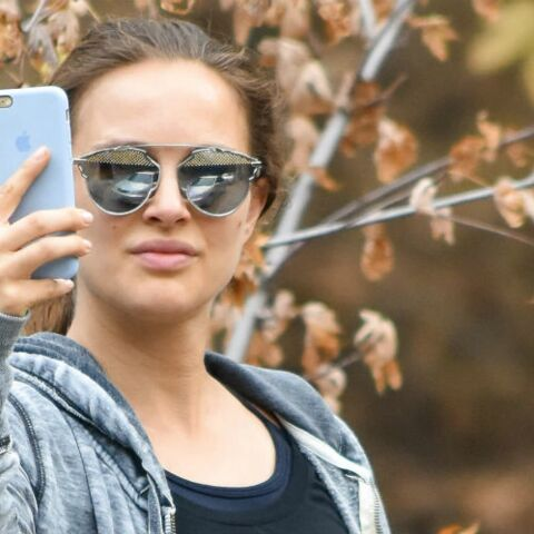 PHOTOS – Natalie Portman, très enceinte, piège des paparazzis