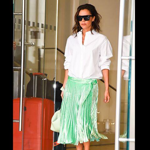 TENDANCE – Victoria Beckham, Marina Hands, Karlie Kloss… Elles portent la jupe plissée