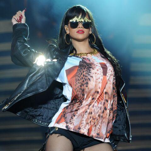 Rihanna défile à la Fashion Week