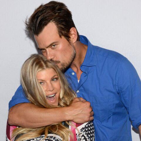 Photos- Fergie et Josh Duhamel présentent Axl