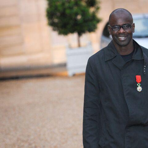 Photos- Lilian Thuram si fier de sa Légion d'Honneur