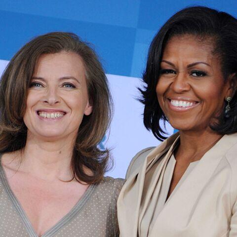 Valérie Trierweiler se compare à Michelle Obama