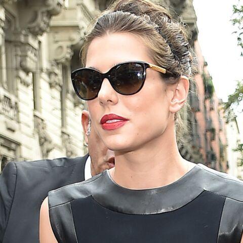 Charlotte Casiraghi au premier rang chez Gucci