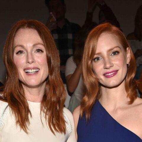 New York Fashion Week – Julianne Moore et Jessica Chastain, flamboyantes au front row