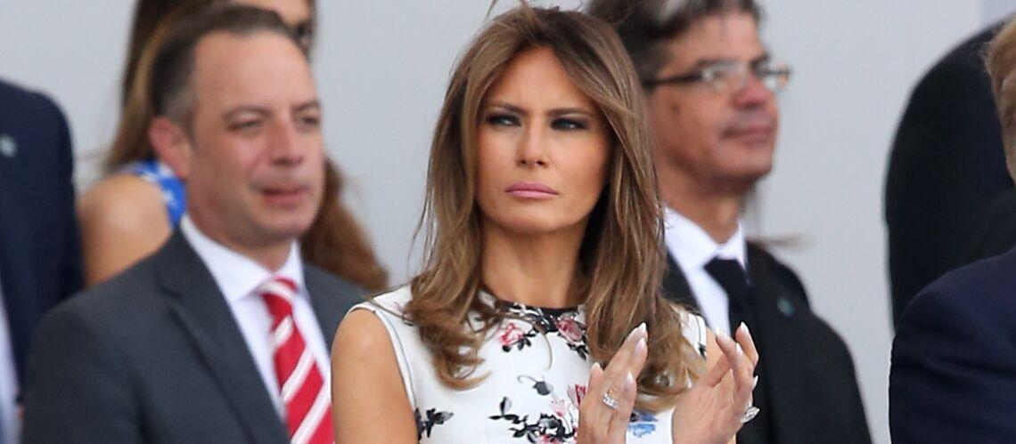 Melania Trump moquée pour son accent slovène? Une affiche souligne que la First Lady parle «un peu» anglais