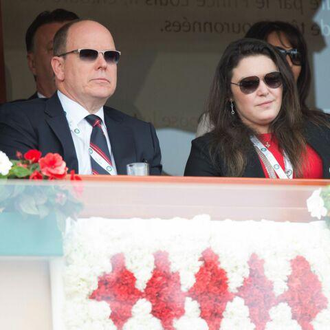 Photos- Le Prince Albert supporter assidu du Masters de tennis de Monte-Carlo