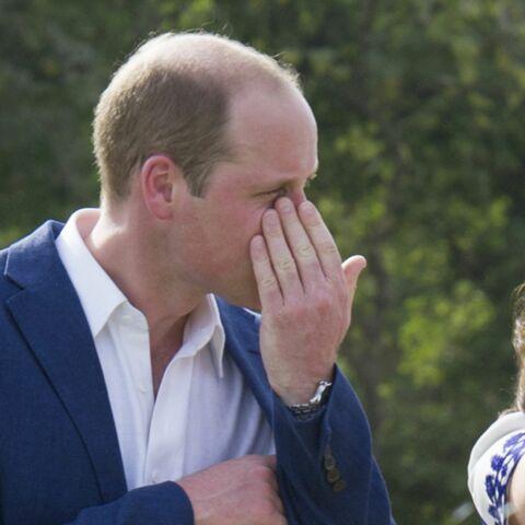 Photos- Les larmes du prince William