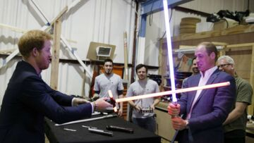 Harry et William: duel fraternel sur le tournage de Star Wars VIII