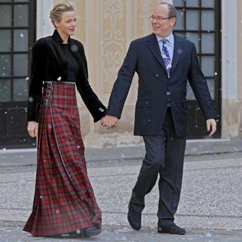 Photos – Charlène de Monaco, une princesse en tartan