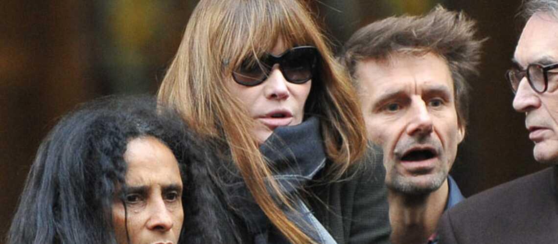 Carla Bruni, Catherine Deneuve: leur dernier hommage à Kate Barry