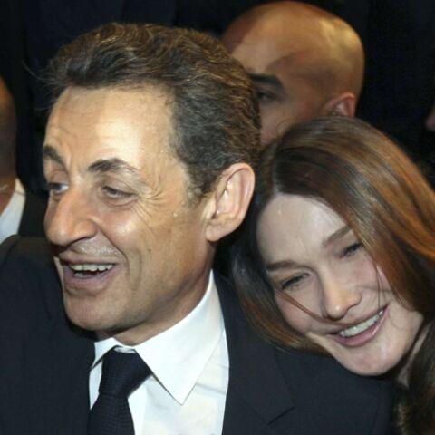 Photos- Carla Bruni-Sarkozy, aux premières loges pour écouter Nicolas