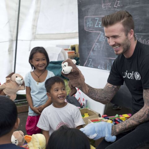 David Beckham: star au grand coeur pour les Philippines