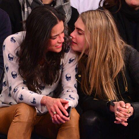 Cara Delevingne et Michelle Rodriguez: l'amour au grand jour
