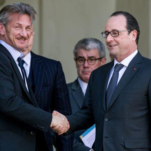 Sean Penn est l'invité de François Hollande